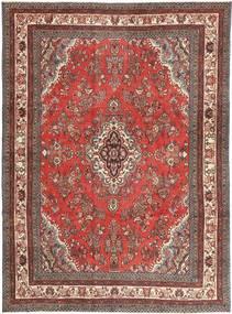 Hamadã Patina Tapete 260X350 Oriental Feito A Mão Vermelho Escuro/Castanho Alaranjado Grande (Lã, Pérsia/Irão)