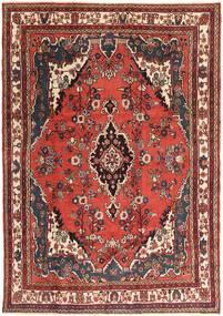 Hamadã Patina Tapete 207X297 Oriental Feito A Mão Castanho Escuro/Vermelho Escuro (Lã, Pérsia/Irão)