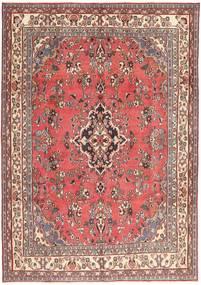 Hamadã Patina Tapete 203X298 Oriental Feito A Mão Luz Rosa/Vermelho Escuro (Lã, Pérsia/Irão)