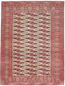 Turcomano Patina Tapete 131X177 Oriental Feito A Mão Vermelho Escuro/Castanho (Lã, Pérsia/Irão)