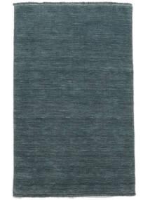 Handloom Fringes - Azul Petroleo Tapete 160X230 Moderno Azul (Lã, Índia)