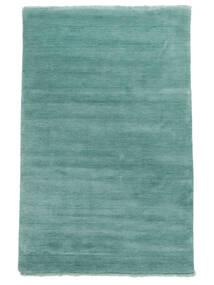 Handloom Fringes - Aqua Tapete 160X230 Moderno Azul Turquesa/Turquesa Escuro (Lã, Índia)