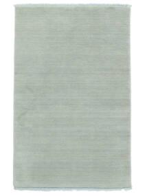 Handloom Fringes - Azul Marinho Tapete 140X200 Moderno Azul Claro (Lã, Índia)