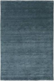 Handloom Fringes - Azul Petroleo Tapete 200X300 Moderno Azul/Azul Escuro (Lã, Índia)