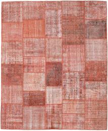 Patchwork Tapete 251X303 Moderno Feito A Mão Luz Rosa/Vermelho Escuro Grande (Lã, Turquia)