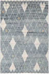 Hatsya - Cinzento Tapete 200X300 Moderno Feito A Mão Cinzento Claro/Azul (Lã, Índia)