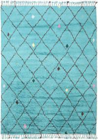 Alta - Turquesa Tapete 200X300 Moderno Feito A Mão Azul Claro/Azul Turquesa (Lã, Índia)