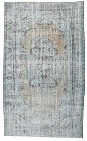 Colored Vintage Tapete 170X294 Moderno Feito A Mão Cinzento Claro (Lã, Turquia)