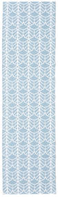 Tapete De Exterior Arch - Azul Tapete 70X200 Moderno Tapete Passadeira Azul Claro/Bege ( Suécia)