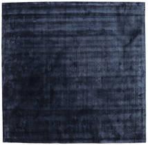 Brooklyn - Azul Noite Tapete 250X250 Moderno Quadrado Azul Escuro/Azul Grande ( Índia)