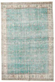 Taspinar Tapete 207X300 Oriental Feito A Mão Cinzento Claro/Azul Turquesa (Lã, Turquia)