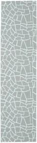 Tapete De Exterior Terrazzo - Verde/Mint Tapete 70X210 Moderno Tapete Passadeira Azul Claro/Cinzento Claro ( Suécia)