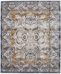Minna - Dourado Tapete 244X304 Moderno Cinzento Claro/Cinza Escuro ( Turquia)