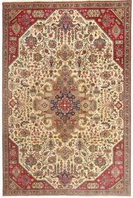 Tabriz Patina Tapete 190X280 Oriental Feito A Mão Castanho Claro/Bege (Lã, Pérsia/Irão)