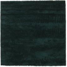 New York - Verde Escuro Tapete 250X250 Moderno Quadrado Turquesa Escuro Grande (Lã, Índia)