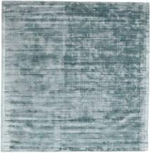 Tribeca - Azul/Cinzento Tapete 250X250 Moderno Quadrado Azul Claro/Cinza Escuro Grande ( Índia)
