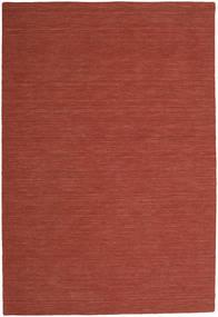 Kilim Loom - Castanho Alaranjado Tapete 200X300 Moderno Tecidos À Mão Vermelho Escuro (Lã, Índia)
