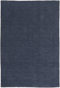Kilim Loom - Denim Azul Tapete 200X300 Moderno Tecidos À Mão Azul Escuro/Azul (Lã, Índia)