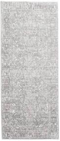 Maharani - Cinzento Tapete 80X200 Moderno Tapete Passadeira Cinzento Claro/Branco/Creme ( Turquia)