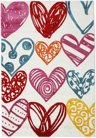 Sweethearts Tapete 140X200 Moderno Bege/Rosa ( Turquia)