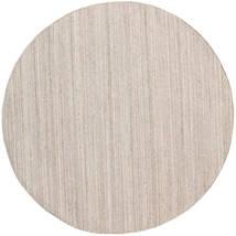 Tapete De Exterior Petra - Beige_Mix Tapete Ø 200 Moderno Tecidos À Mão Redondo Cinzento Claro/Branco/Creme ( Índia)