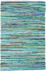 Ronja - Verde Mix Tapete 170X240 Moderno Tecidos À Mão Azul Turquesa/Azul Claro (Algodão, Índia)