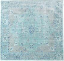 Maharani - Azul Tapete 200X200 Moderno Quadrado Azul Claro/Azul Turquesa ( Turquia)