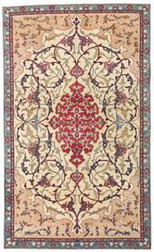 Najafabad Patina Tapete 140X236 Oriental Feito A Mão Bege/Castanho Escuro (Lã, Pérsia/Irão)