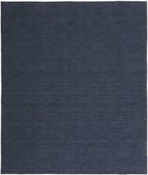 Kilim Loom - Denim Azul Tapete 200X250 Moderno Tecidos À Mão Azul Escuro/Azul (Lã, Índia)