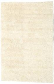 Serenity - Branco Pérola Tapete 140X200 Moderno Feito A Mão Bege/Branco/Creme (Lã, Índia)