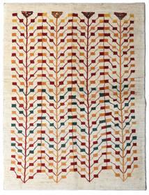 Gabbeh Persa Tapete 151X198 Moderno Feito A Mão Bege/Cinzento Claro (Lã, Pérsia/Irão)