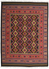 Kilim Marmaris Tapete 250X350 Moderno Tecidos À Mão Vermelho Escuro/Preto Grande (Lã, Índia)