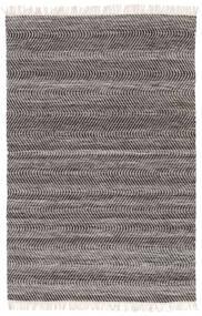 Chinara - Preto/Branco Tapete 200X300 Moderno Tecidos À Mão Cinzento Claro/Cinza Escuro (Lã, Índia)