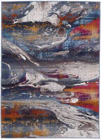 Mirro Tapete 118X176 Moderno Cinza Escuro/Cinzento Claro ( Turquia)
