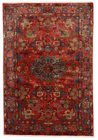 Nahavand Old Tapete 150X222 Oriental Feito A Mão Vermelho Escuro/Castanho Escuro (Lã, Pérsia/Irão)