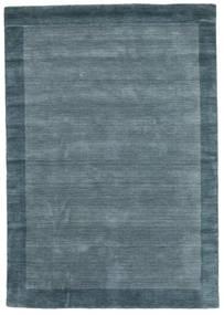 Handloom Frame - Petrol Azul Tapete 160X230 Moderno Azul (Lã, Índia)