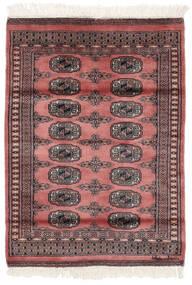 Paquistão Bucara 2Ply Tapete 79X109 Oriental Feito A Mão Vermelho Escuro/Preto (Lã, Paquistão)